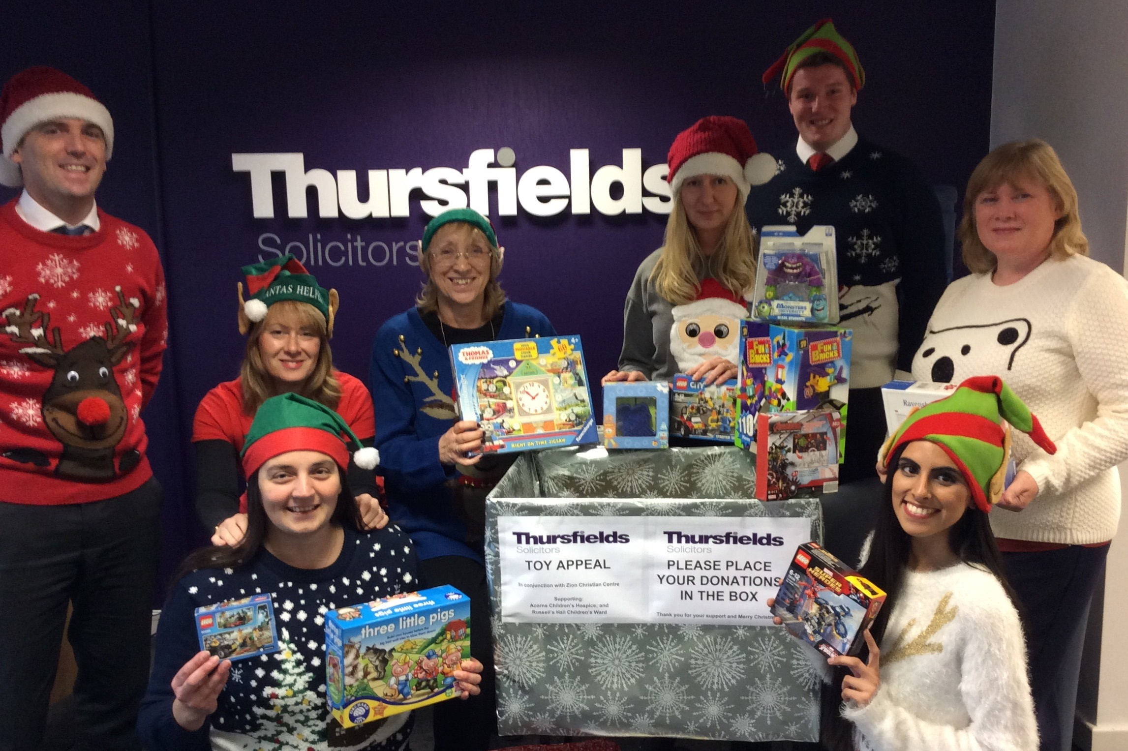 Thursfields Toy Appeal 2