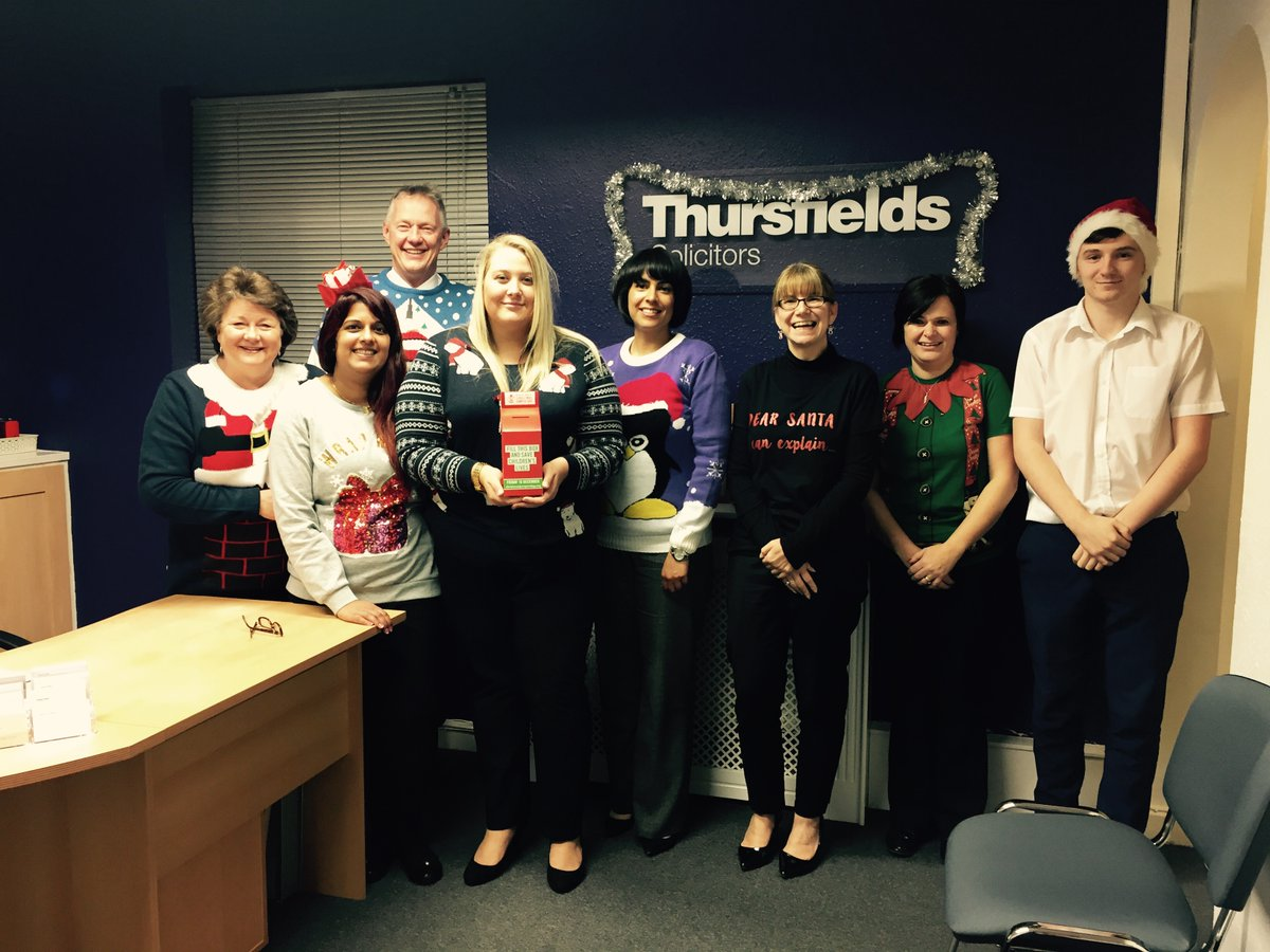 Thursfields Xmas Jumper Day 2016