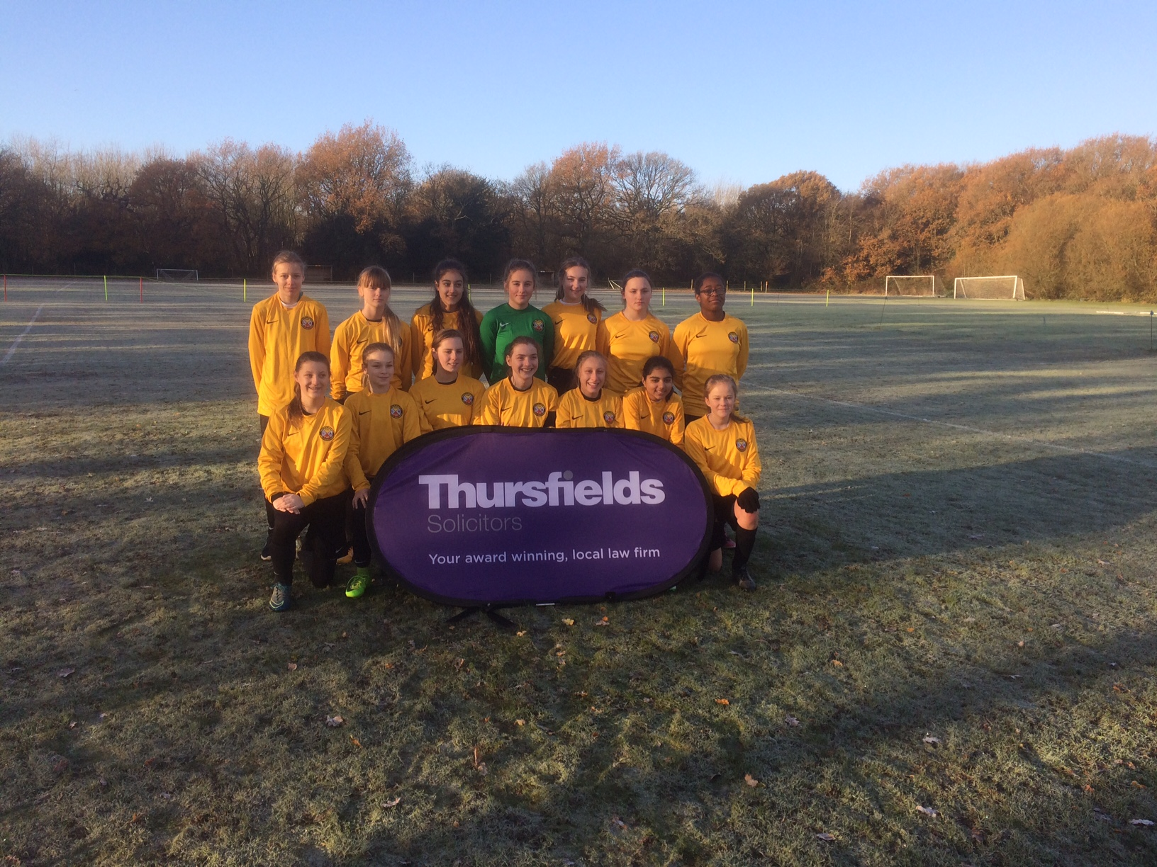 Leafields Ladies athletic FC U15 1