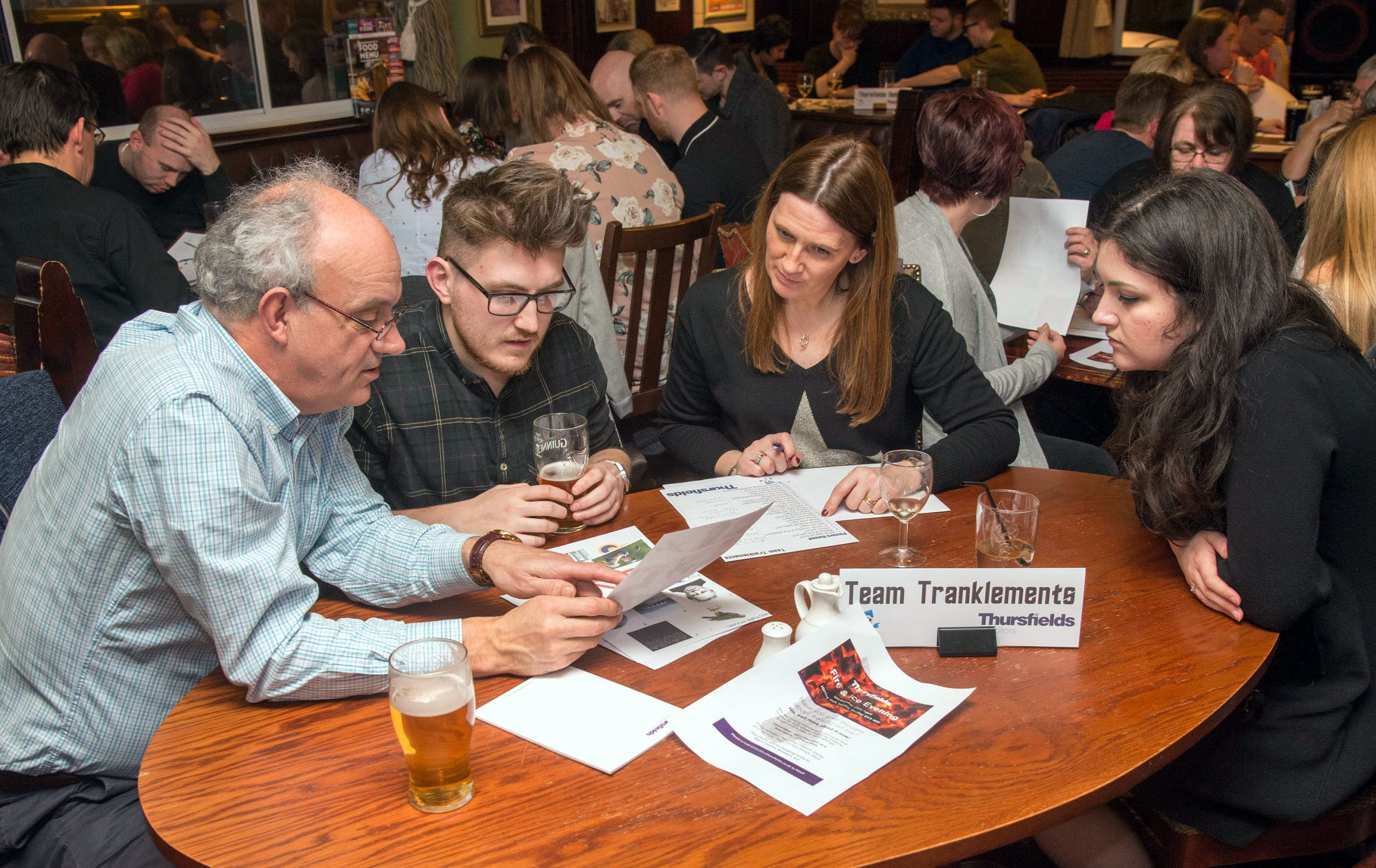 Black Country Quiz Raises £1000
