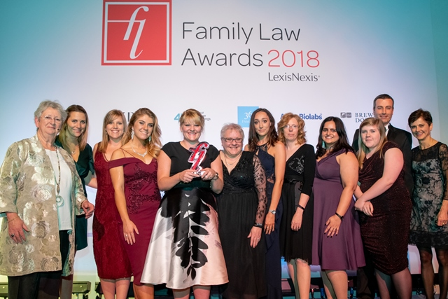 Winner of family law awards 2018 3