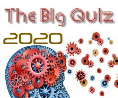 The Big Quiz 2020 Invite