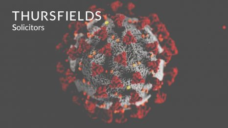 Thursfields Solicitors flyer : Coronavirus