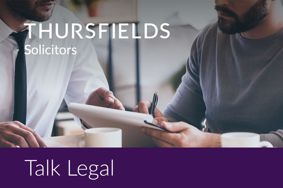 Thursfields Talk Legal Flyer