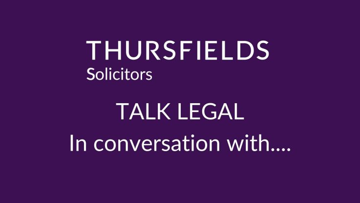 Eventbrite - Thursfields Talk Legal - In conversation with