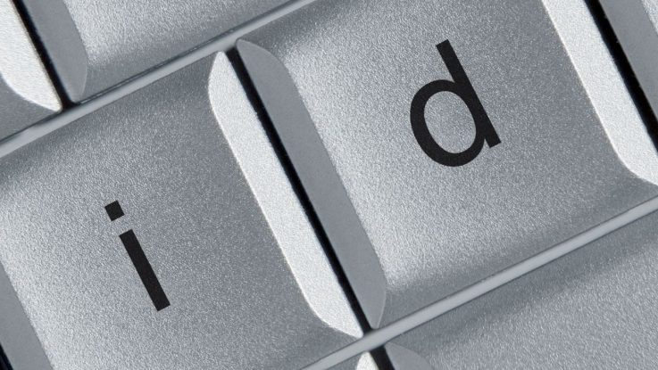 I and D buttons on a keyboard
