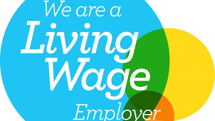 We are a living Wage employer logo